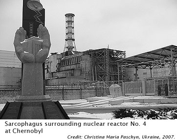 Chernobyl Nuclear Reactor #4. Image by Christina Paschyn.
