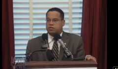 Rep. Keith Ellison Compares Bush to Hitler