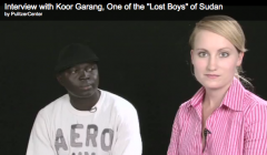 "Interview with Koor Garang, One of the ""Lost Boys"" of Sudan"